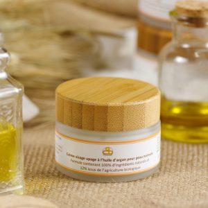 Crème UPAGE peau normale huile d'Argan